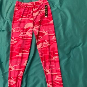 Pants - camo tights